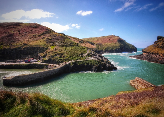 Boscastle Harbour April