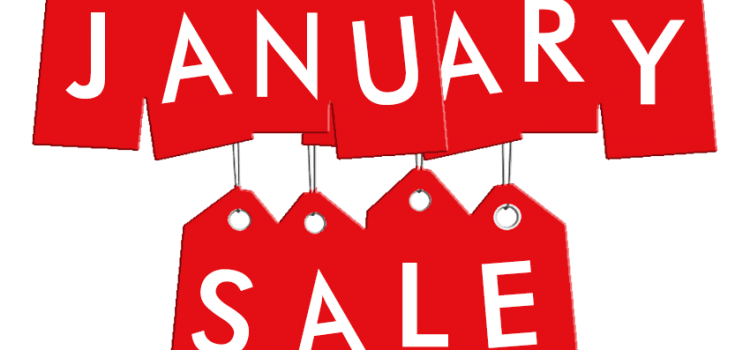 The BIG January Sale for 2019