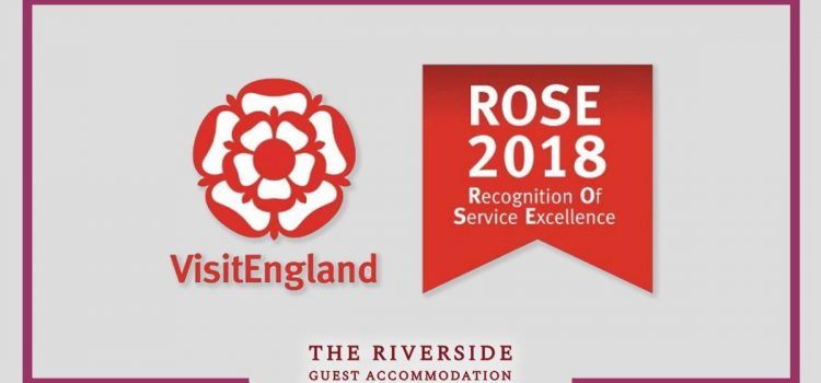 The Riverside wins 2018 VisitEngland ROSE award!