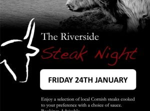 Steak Night at The Riverside