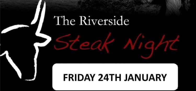 Steak Night this January!