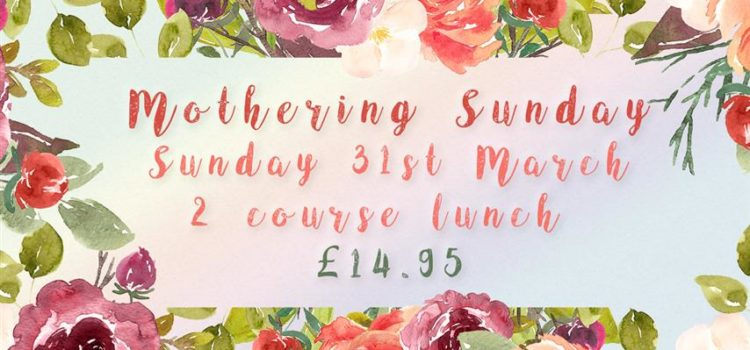 Mothering Sunday at The Riverside