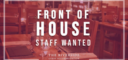 Wanted: Front of house staff