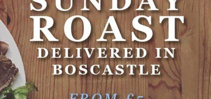 Sunday roast delivered for free!
