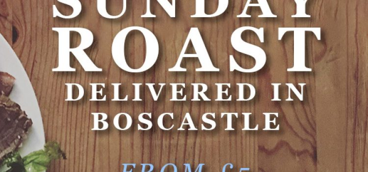 Sunday roast delivered for free!